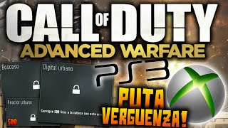 ADVANCED WARFARE VERGÜENZA PS3 Y XBOX 360 ¡LLAMAMIENTO A LA ...
