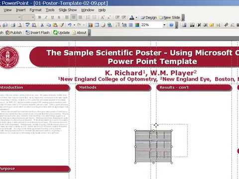 How to design a poster in powerpoint  poster template tutorial