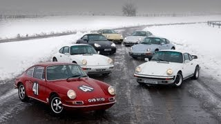 Porsche 911 And Fifty Years Of Evolution