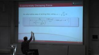 Dynamics, Noise&Vibration - Ch. 3 - Non-periodic and Sinusoidal Forcing Functions