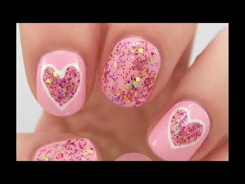 Modelos de uñas - Barbie uñas decoradas ideas Sencillas Faciles y Elegantes