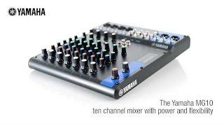 Video Yamaha MG10 Analog Mixing Console MP3, 3GP, MP4, WEBM, AVI, FLV Juli 2018