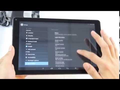 Zerofire 10.1 inch Quadcore Ips 1280*800 kitkat android4.4 tablet pc