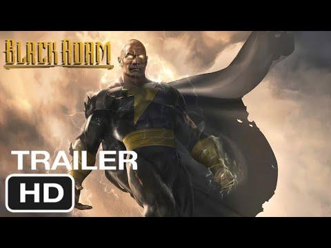 Black Adam - Movie Trailer 2021 (Dwayne Johnson, Tom Hanks)