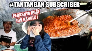 Video DITANTANG MAKAN GONGSO SAMPAI NANGIS! #TantanganSubscriber01 MP3, 3GP, MP4, WEBM, AVI, FLV November 2018