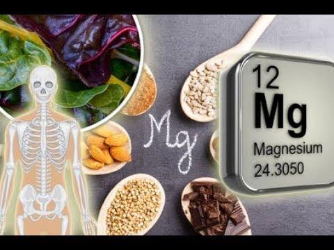 Magnesium und wieso es so wichtig für den menschlichen Körper ist (видео)