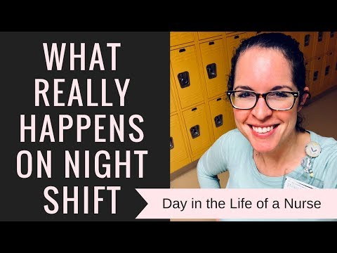 12 HOUR NIGHT SHIFT | Day In The Life Of A Nurse