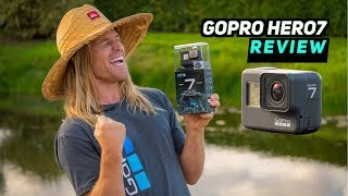 GOPRO HERO 7 BLACK REVIEW!!! INSANE NEW FEATURES!!!