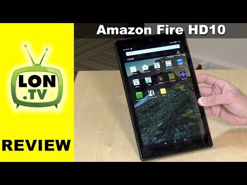New Fire HD 10 Tablet Review (2017) $149 with Alexa Hands-Free Voice Commands