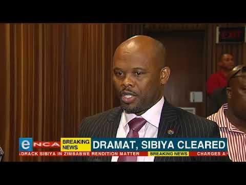 Dramat and Sibiya cleared