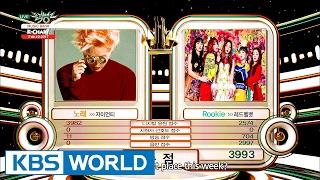 [Music Bank K-Chart] 2nd Week of February - Zion.T vs Red Velvet (2017.02.10)