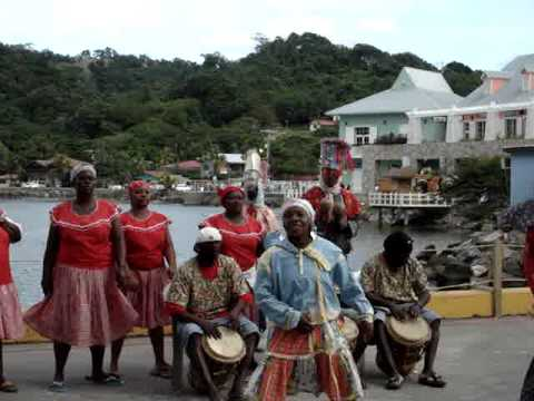 Dancers in Roatan, Honduras