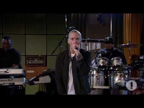(Stan - Eminem performs Stan live at the BBC's Maida Vale studios for Radio 1.