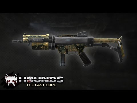 Hounds: The Last Hope SMG (Hafif Makinalı Tüfek)
