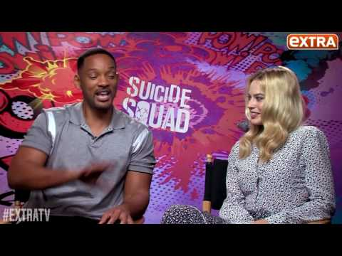 Suicide Squad Cast Funny Moments