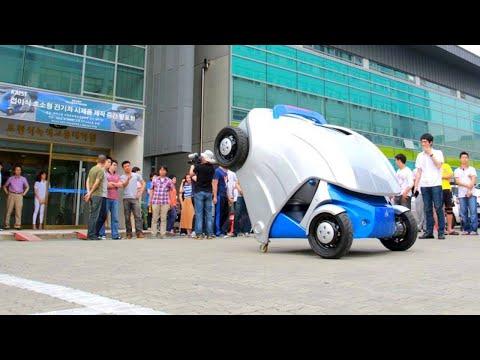 العرب اليوم - تعرف على أصغر سيارة قابلة للطي