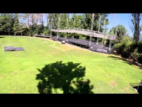 Edgefield Concert Series Stage Timelapse (видео)