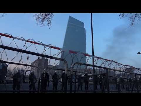 Frankfurt 2015: Blockupy EZB Frankfurt 18.03.2015, utopieTV-doku-video