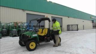 7. For Sale 2008 John Deere 850D Gator 4x4 Diesel ATV UTV Utility Dump bidadoo.com
