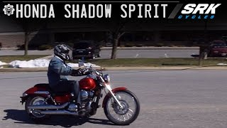 10. Honda Shadow 750 Test Drive