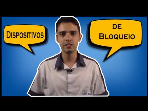 Neste vídeo você verá algumas demonstrações da utlilização do trio de bloqueio e de outros exemplos de dispositivos para o Lockout & Tagout.