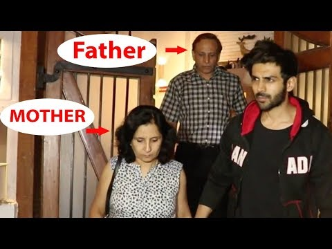 Kartik Aaryan SPOTTED With His Parents After Famil