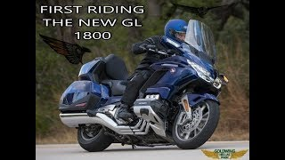 9. FIRST RIDING GOLDWING 2018