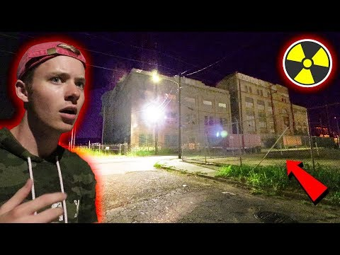 ESCAPING GANG MEMBERS at ABANDONED POWERPLANT (exploring)