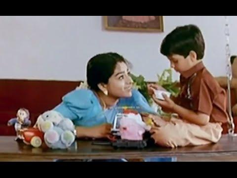 Bhale Bullodu Movie Scenes - Soundarya & Chinna funny conversation - Jayasudha