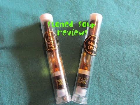 The Clear Vape cartridge Review : Blue Razz(dream) Banana creme(og)