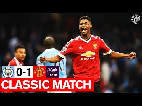 Classic Match (15/16)   Manchester City 0-1 Manchester United   Premier League