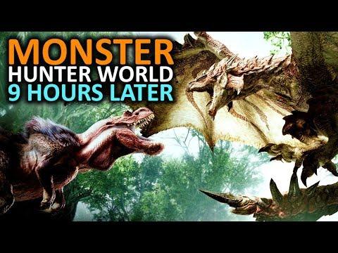 Monster Hunter World - 9 Hours Later ... (No Spoilers)