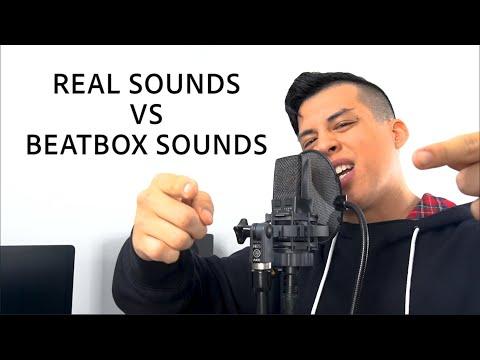 Real Sounds Vs Beatbox Sounds