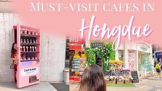 Cafes in Hongdae, South Korea: Zapangi and Arriate (Part I) | Travel Vlog