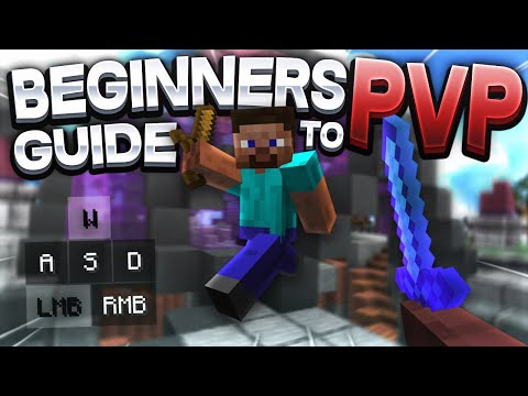 A BEGINNER'S GUIDE TO MINECRAFT PVP! How To Become A Pro!