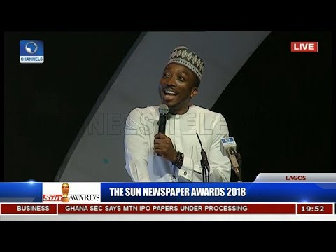 Sun Awards: Bovi Revisits Animal Kingdom, Takes On Saraki, Dino, Dankwambo