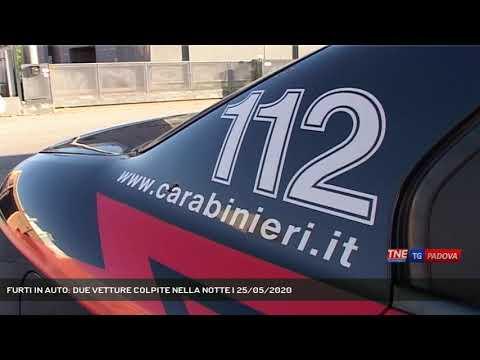 FURTI IN AUTO: DUE VETTURE COLPITE NELLA NOTTE   25/05/2020