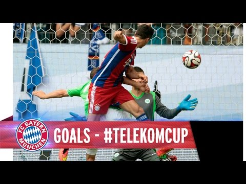 goals - Hier gibt's alle FCB-Tore beim Telekom Cup 2014. Welches war euer Favorit? // A review of all FCB goals at the Telekom Cup. Which is your favourite?