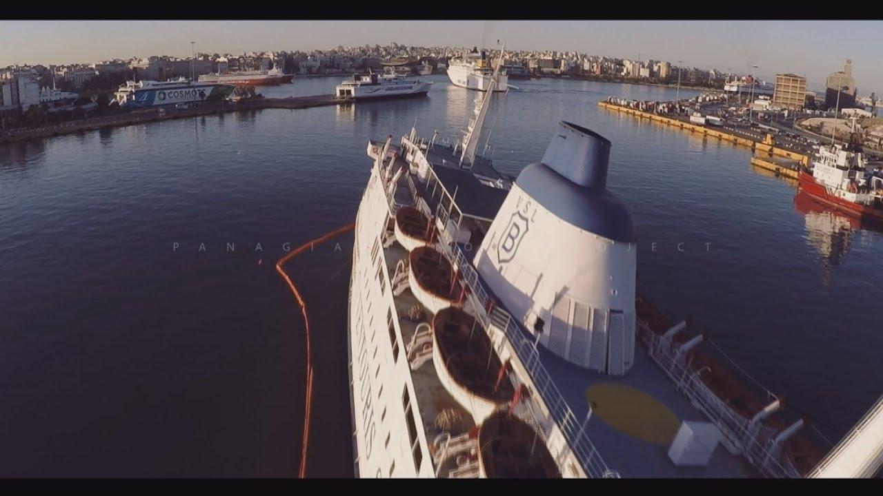Ολοκληρώθηκε το μεγαλύτερο μέρος των εργασιών στο πλοίο «Παναγία Τήνου»