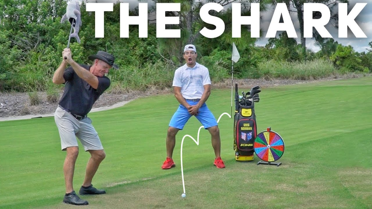 Wheel of Not Ideal | Greg Norman Edition | BroFive - YouTube