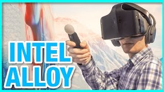 Intel Project Alloy: Wireless VR - Hands On Demo (CES 2017)