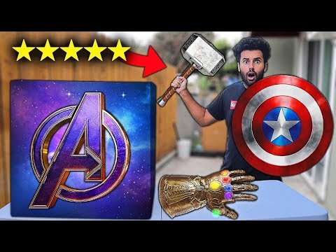 I Bought ALL The BEST Rated AVENGERS WEAPONS On Amazon!! *AVENGERS MYSTERY BOX*