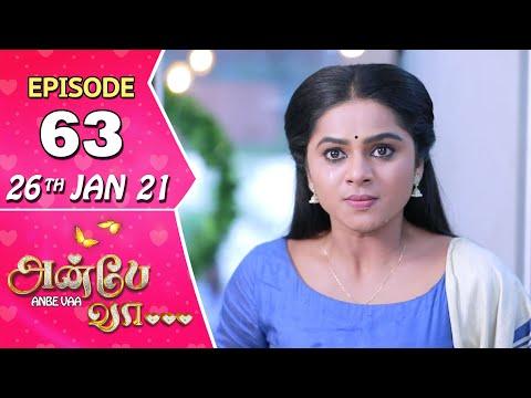 Anbe Vaa Serial | Episode 63 | 26th Jan 2021 | Virat | Delna Davis | SunTV Serial |Saregama TVShows
