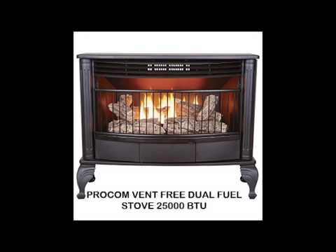 Pleasant Hearth Convertible And Procom Gas Fireplace