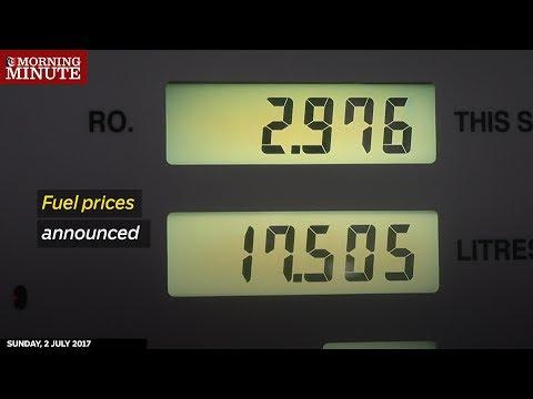 Fuel prices announced