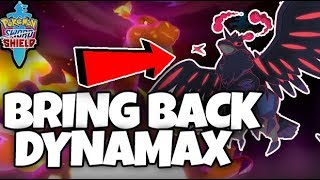 DYNAMAX SHOULD COME BACK by Thunder Blunder 777