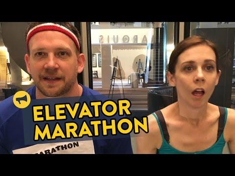 Improv Everywhere Elevator Marathon Prank