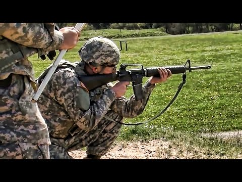 U.S. Soldiers M16 & M9 Weapons Qualification