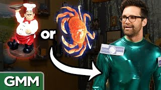 """We've hidden random items on our bodies, can you guess what they are? GMM #1152!We have new merch! Check it out at http://rhettandlink.com/storeSUBSCRIBE to GMM: http://bit.ly/subrl2  Watch today's GMMore episode: http://bit.ly/GMMoreReveal  Don't miss This Is Mythical: http://bit.ly/GamingYTSystemFor rules and more info on how to submit a #10SecondTour go to http://www.rhettandlink.com/10secondtourFollow Rhett & Link:Facebook: http://facebook.com/rhettandlinkTwitter: http://twitter.com/rhettandlinkTumblr: http://rhettandlink.tumblr.comInstagram: http://instagram.com/rhettandlinkOther Rhett & Link Channels:Main Channel: https://youtube.com/rhettandlinkGood Mythical MORE: https://youtube.com/user/rhettandlink3Rhett & Link EXTRAS: https://youtube.com/user/rhettandlink4GMM Merch: http://bit.ly/RhettLinkStoreWatch More GMM:Choose a Season:  http://bit.ly/2axhxZNPopular Videos: http://bit.ly/2afIJ12Latest Uploads: http://bit.ly/2aZMw3KWill It?: http://bit.ly/2a64BiVTaste Tests: http://bit.ly/2a4v5hZListen to our FREE podcast, Ear Biscuits:Apply Podcasts: http://apple.co/29PTWTMSpotify: http://spoti.fi/2oIaAwpArt19: https://art19.com/shows/ear-biscuitsJOIN the RhettandLinKommunity: http://bit.ly/rlkommunityMail us stuff to our P.O. Box: http://rhettandlink.com/contactSubmit a Wheel of Mythicality intro video: http://bit.ly/GMMWheelIntroWe are two Internetainers dedicated to giving you a daily dose of casual comedy every Monday-Friday on our show """"Good Mythical Morning."""" Thanks for making us a part of your daily routine. Be your mythical best! - Rhett & LinkCredits:Executive Producer: Stevie Wynne LevineWriter/Producer: Edward Coleman Writer/Producer: Lizzie BassettWriter/Producer: Kevin KostelnikWriter/Producer: Micah GordonWriter/Producer: Ellie McElvainAssociate Producer: Chase HiltTechnical Director/Graphics/Editor: Morgan LockeEditor: Casey NimmerAdditional Graphics/Editing: Matthew DwyerArt Director: Colin J. Morris Production Assistant: Saagar Shaikh Content Manager"""