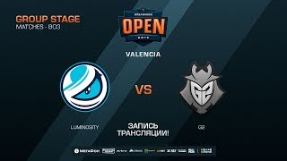 Luminosity vs G2 - DreamHack Open Valencia 2018 - map1 - de_dust2 [CM, SSW]